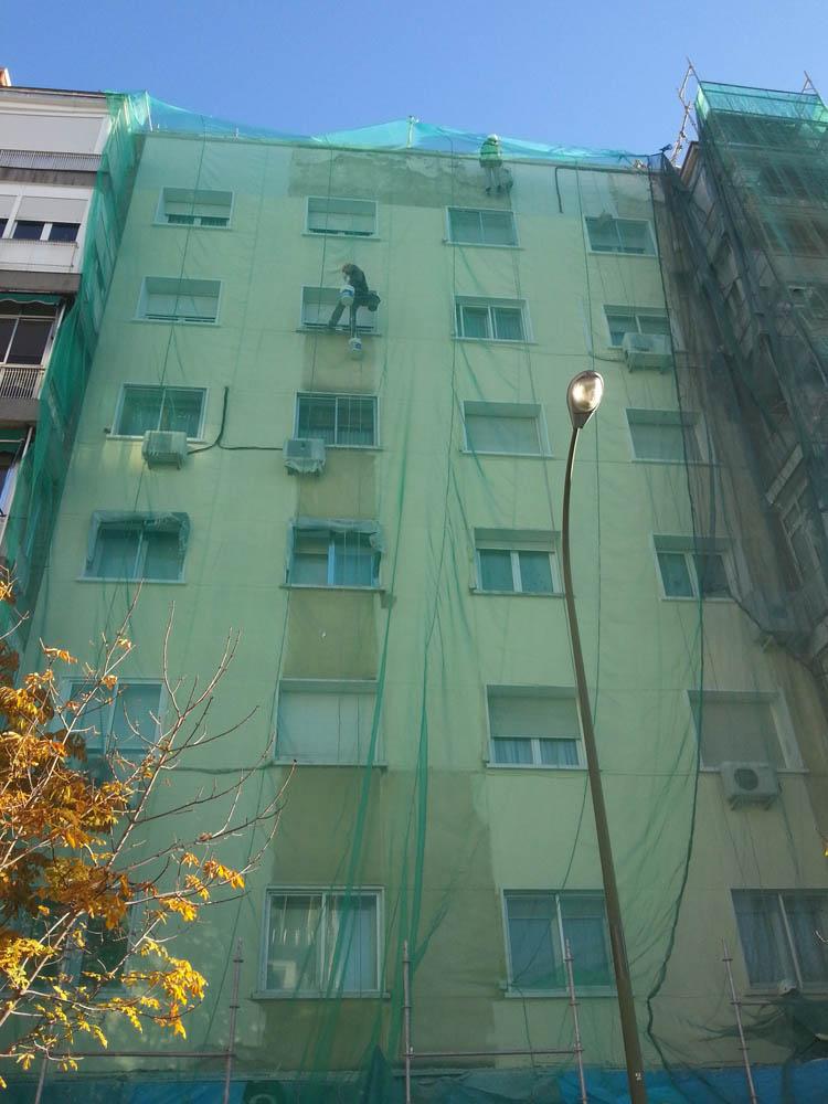 consumo energético y rehabilitación de fachadas