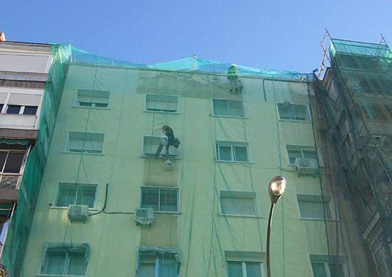 mantenimiento limpieza fachada