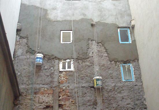 fachada por revestir