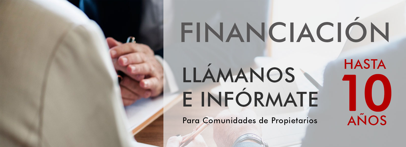 financiacion para comunidad de propietarios